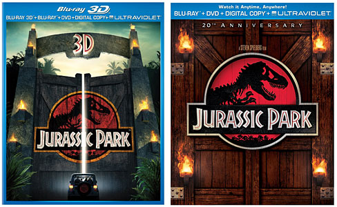 New on Blu-ray & UltraViolet: Jurassic Park 3D, Gangster Squad, The Impossible