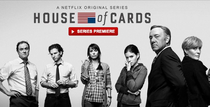 Netflix Begins Streaming 'House of Cards' Today