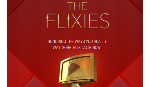 The Flixies: Netflix asks users to hand out awards