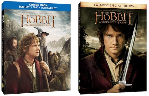 Hobbit Blu-Ray Releases Announced