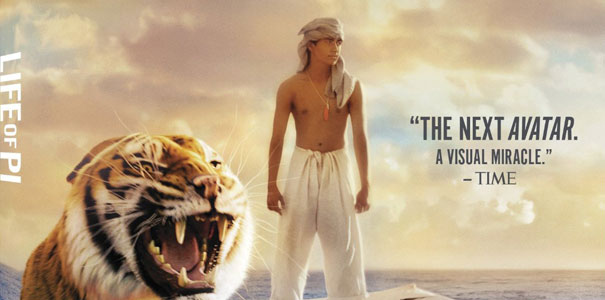 Blu-ray Giveaway 'Life of Pi'