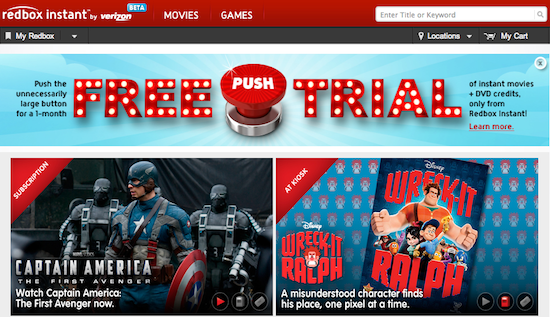 Redbox Instant Streaming Available To Public **UPDATED**