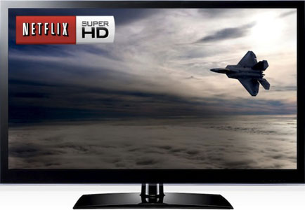 Netflix To Offer 4K/UltraHD For 4K HDTV