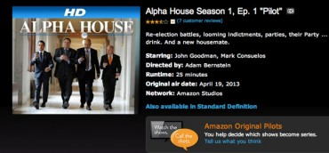 Amazon Instant Video launches 14 pilots for free viewing