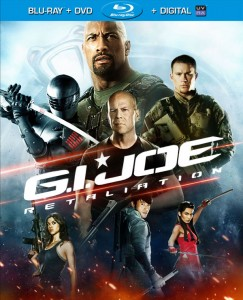 GI JOE Retaliation Blu-ray DVD UltraViolet