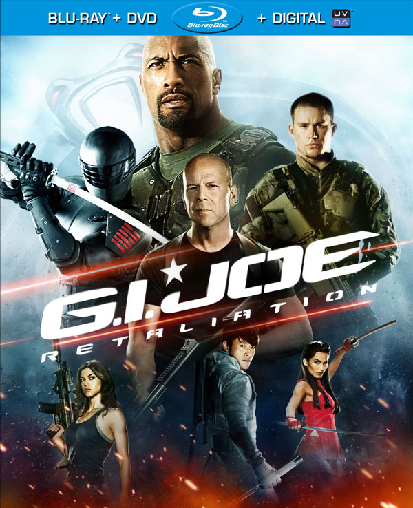 G.I. JOE: Retaliation Blu-ray release date & box art