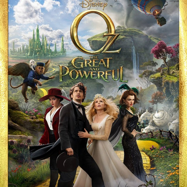 Oz the Great and Powerful Blu-ray 2 Disc Edition