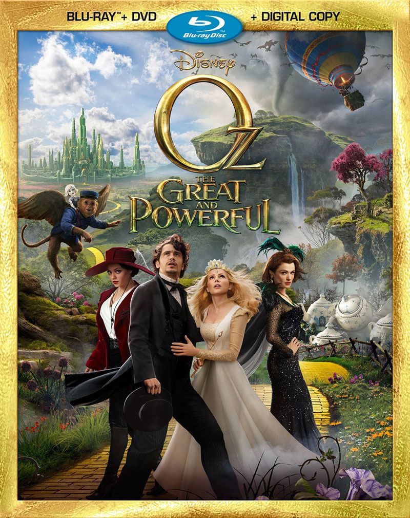 New on Blu-ray June 11: Oz the Great and Powerful, Hansel & Gretel: Witch Hunters