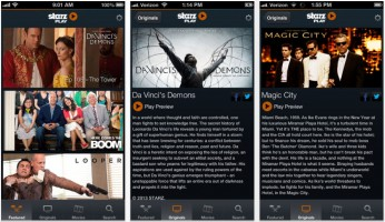 STARZ/ENCORE Play apps now available for Time Warner Cable subscribers