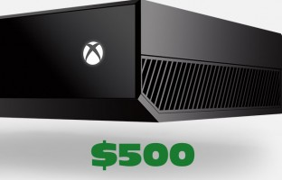 Xbox One debuts in November for $500