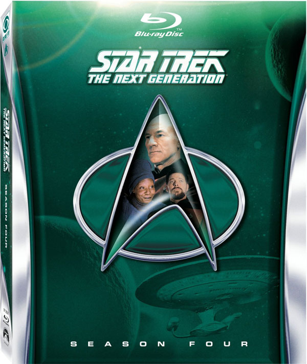 Star Trek The Next Generation Season 4 Blu-ray Disc