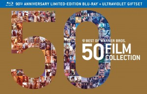 Warner Bros. 50 Film Collection Blu-ray front