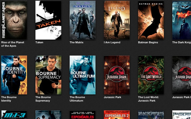 Select HD Action Movies on sale at Apple iTunes