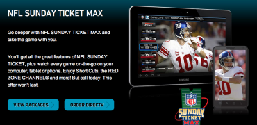No NFL Sunday Ticket for PS3 owners this season