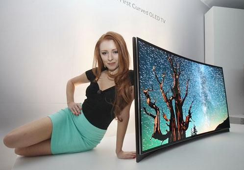samsung-curved-oled-55-tv-model-ces-2013 Copyright Samsung