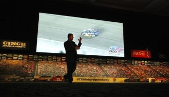 Texas Motor Speedway Will Have World's Largest HD Video Screen