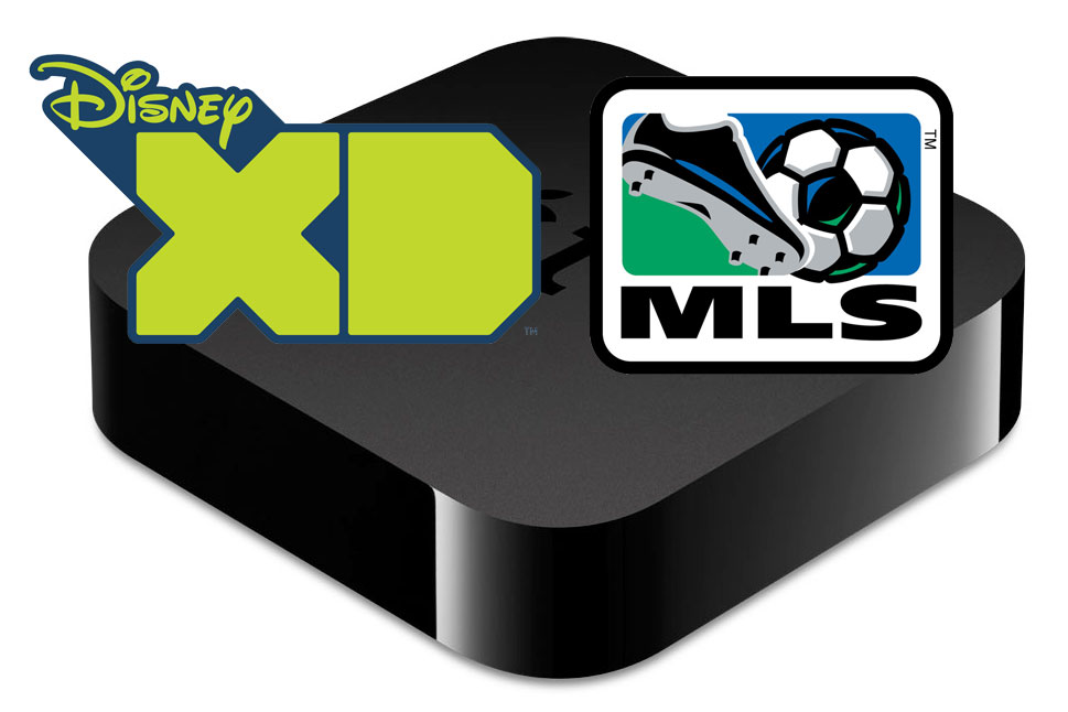 Apple TV adds Major League Soccer & Disney XD channels to lineup