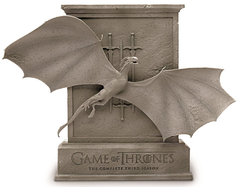 Game of Thrones The Complete Third Season Limited Edition Blu-ray