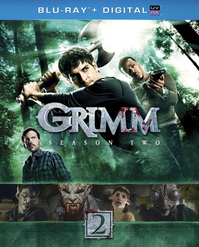 Grimm Season Two Blu-ray