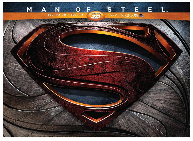 Man of Steel Collectors Edition Blu-ray