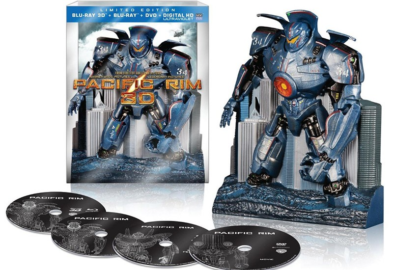 Pacific Rim Collectors Edition open Blu-ray