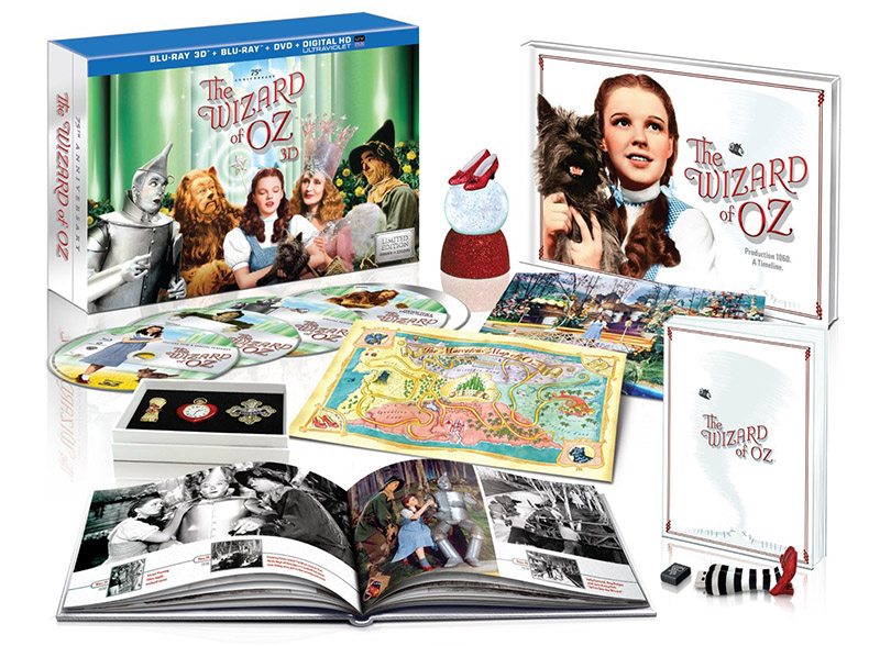 The Wizard of Oz 75th Anniversary Limited Collectors Edition Blu-ray