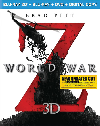 World War Z 3D Blu-ray