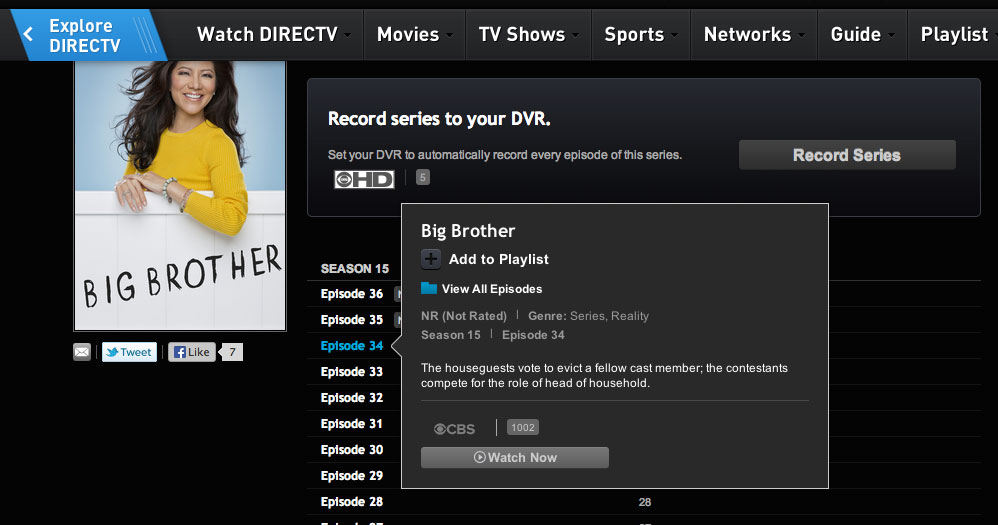 DirecTV now lets you stream CBS shows online – HD Report