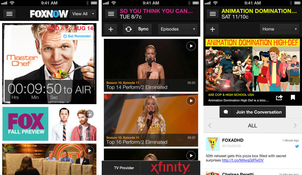 fox-now-app-screens