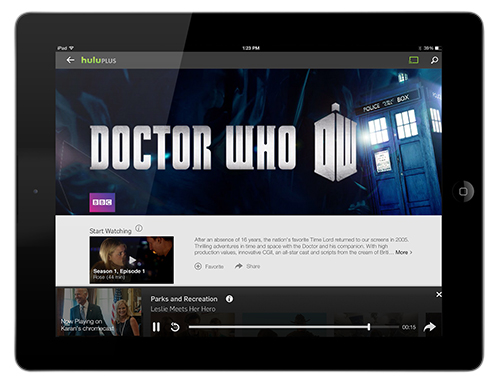 Hulu Plus app update supports Google Chromecast on Android & iOS