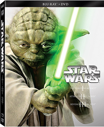 Star Wars Trilogy Episodes I-III Blu-ray DVD 400px
