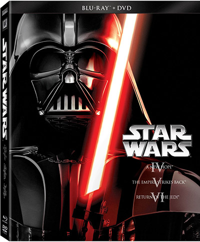 Star Wars Trilogy Episodes IV-VI Blu-ray DVD 400px