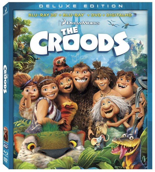 The Croods Blu-ray 3D