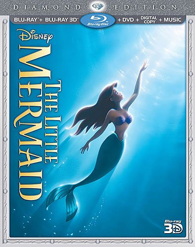 The Little Mermaid 3D Blu-ray 3-Disc Edition