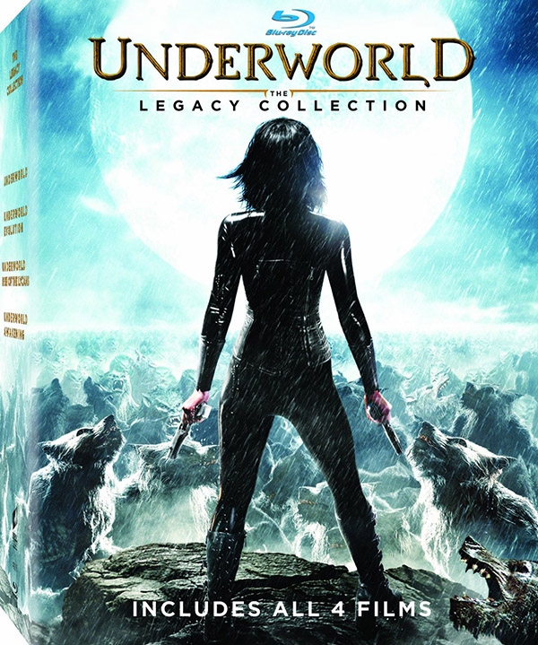 Underworld The Legacy Collection Blu-ray
