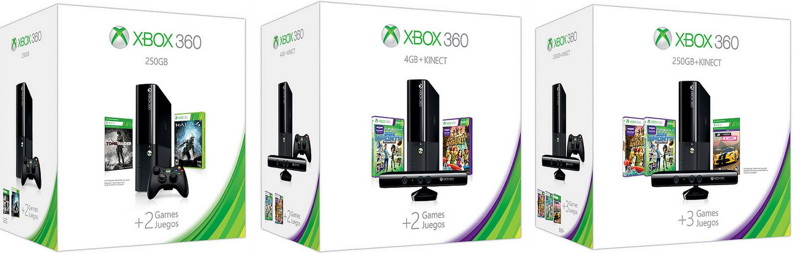 Microsoft announces new Xbox 360 holiday bundles