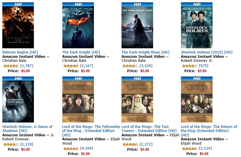 Deal Alert: Amazon Digital Titles in HD only $5.99 today