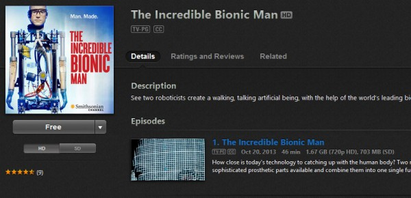 the-incredible-bionic-man-itunes-details