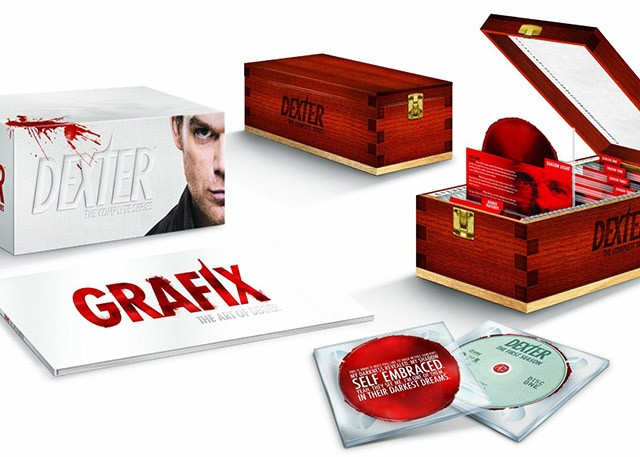 Dexter The Complete Series Collection Blu-ray