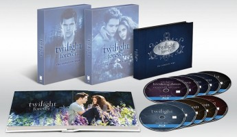 Blu-ray Deal: Twilight Forever: The Complete Saga Box Set $49