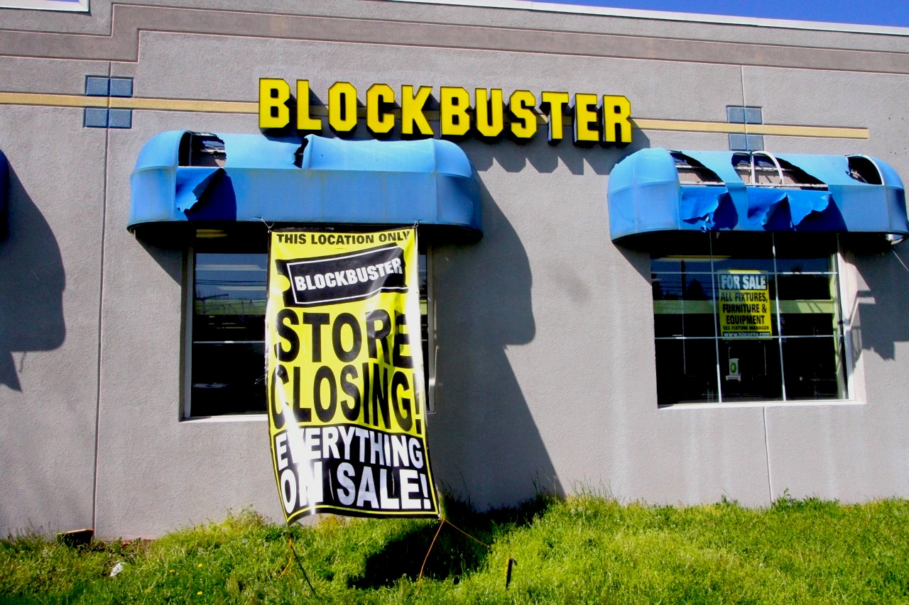 Obituary: Blockbuster Video