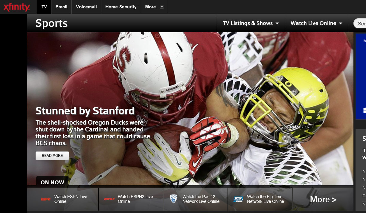 comcast-xfinity-sports-microsite