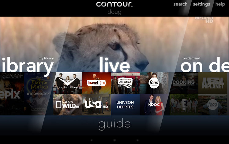 Cox Contour TV system expands to Android tablets