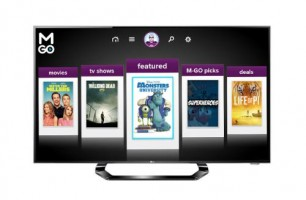 M-GO video launches for LG Smart TVs, offers two HD rentals