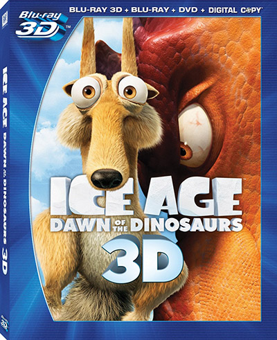 Ice Age Dawn of the Dinosaurs blu-ray 3d