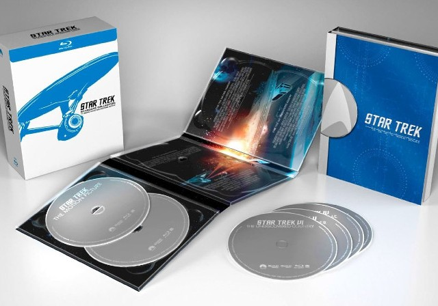 Star-Trek Stardate Collection Blu-ray Open