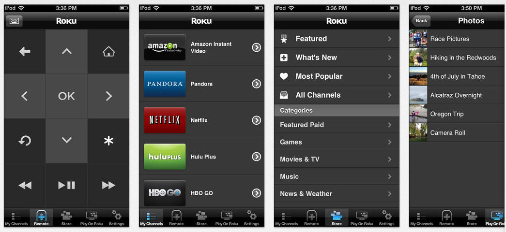 Roku app updated for Android & iOS devices – HD Report