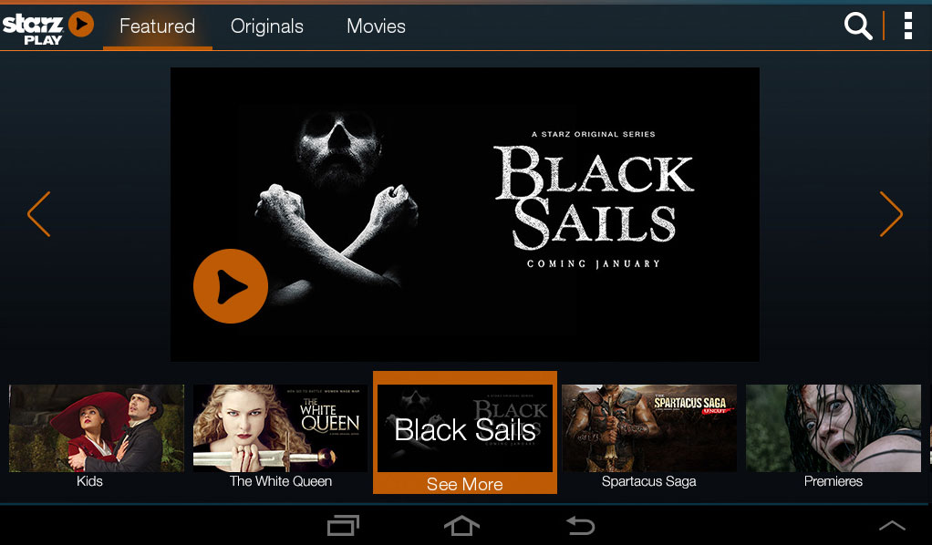 STARZ PLAY launches for Xbox 360, Xbox One support 'Top Priority