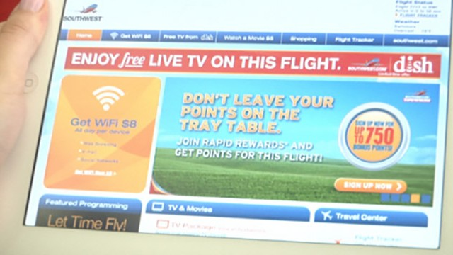 DISH TV Flies Free Flyer
