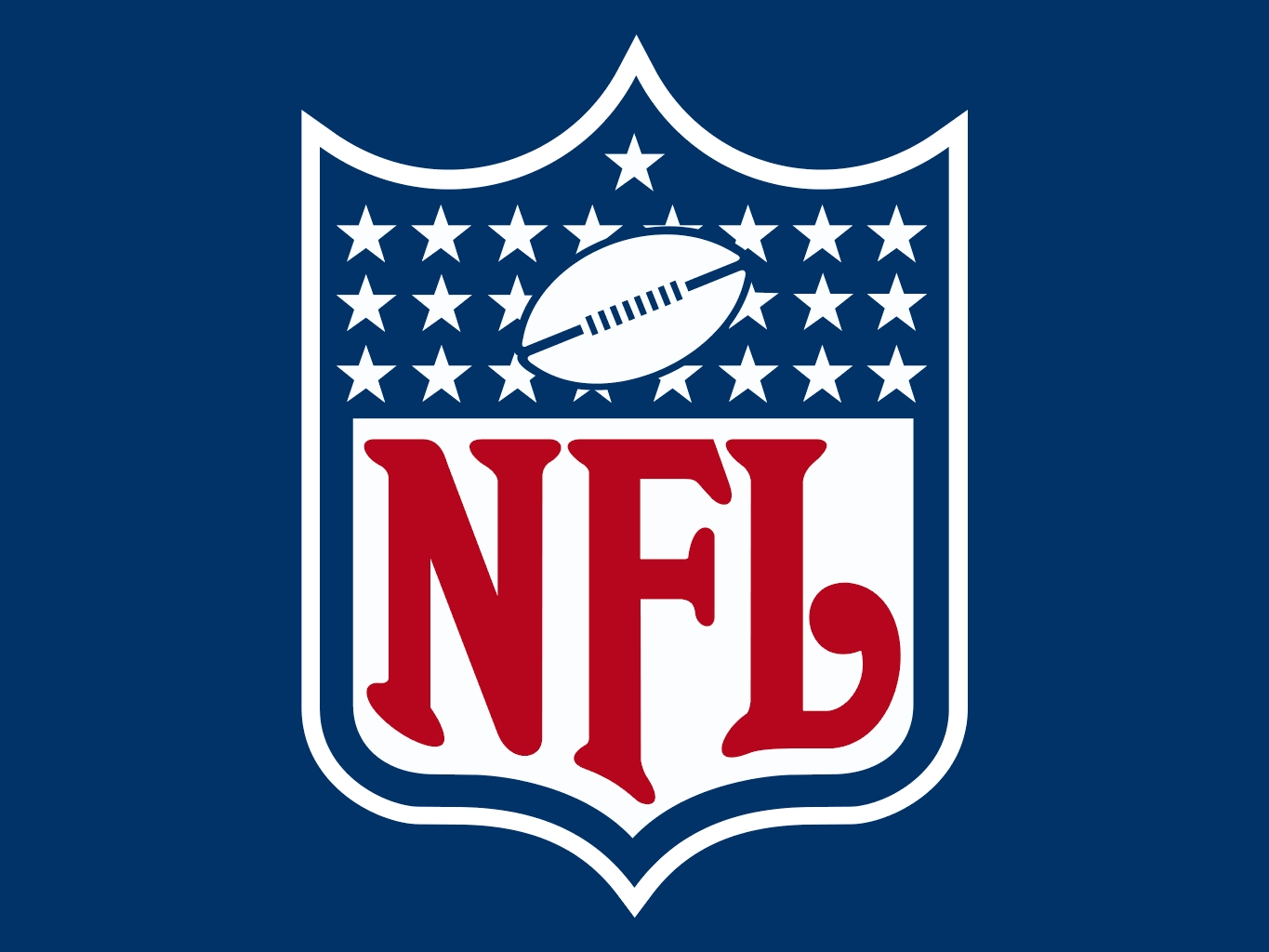 NFL Logo on Blue